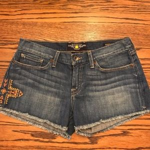 Lucky Brand Riley denim short
